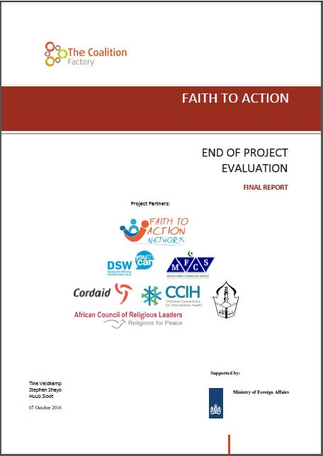 Faith To Action Project Evaluation Report  Faith To Action Network